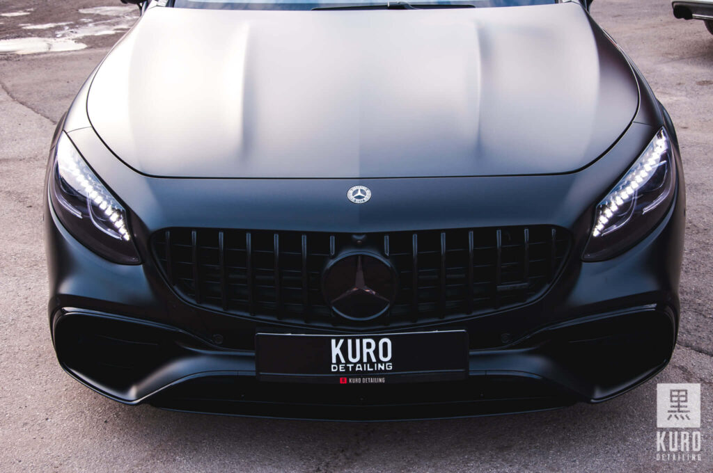 Mercedes S63 Folia STEK Poland PPF DYNOmatt   Zdjęcie Kuro Detailing